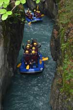 Rafting Gorges des Tines